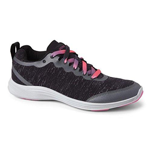 Vionic Women's, Agile FYN Crosstraining Sneaker Black 6.5 M