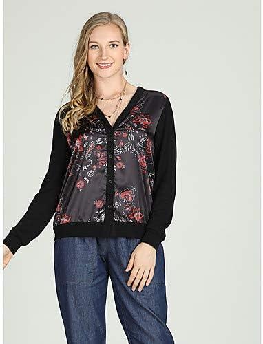 IYFBXl Camisa Vintage/Chinoiserie para Mujer - Estampado Floral, Negro, XXL: Amazon.es: Deportes y aire libre