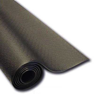 Ironcompany 3' x 7' x 1/4'' Heavy Duty Vinyl Exercise Equipment Mat for Treadmills and Ellipticals by Ironcompany.com