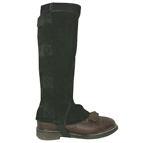 Intrepid International Deluxe Suede Half Chaps, Black, X-Large by Intrepid International