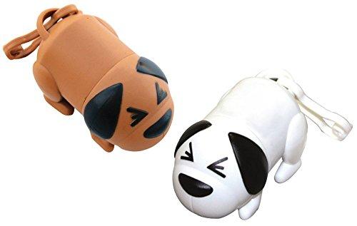 CalTokyo Premium Constipated Dog Shaped Poop Bag Dispensers Set of 2