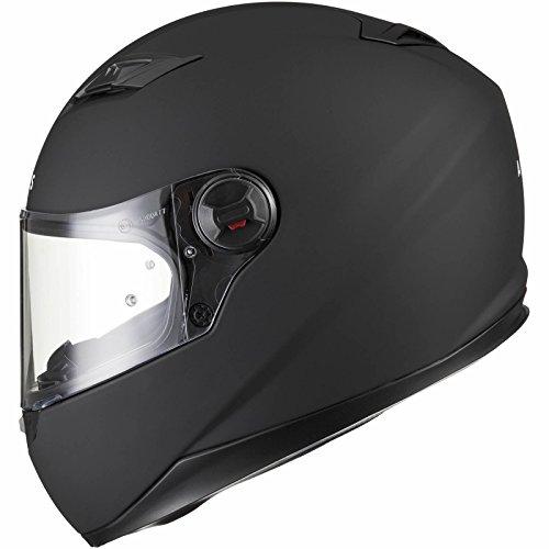 Agrius Rage Solid Motorcycle Helmet M Matt Black