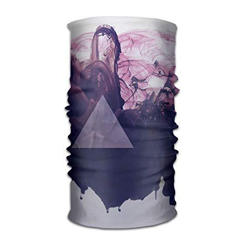 - Fashion New Headwear Headband Triangles Geometry Head Scarf Wrap Sweatband Sport Headscarves For Men Women