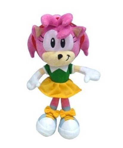 Sonic The Hedgehog 7'' Plush Amy by Sonic The Hedgehog