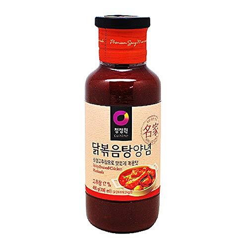 (Chungjungone Spicy Braised Chicken Marinade 480g 닭볶음탕 양념)