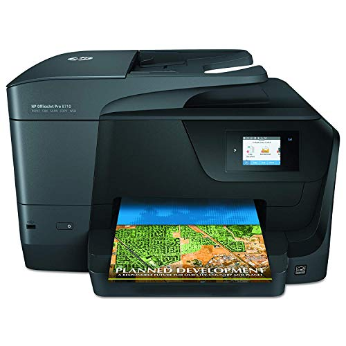 HP OfficeJet Pro 8710 All-in-One Wireless Printer, HP Instant Ink & Amazon Dash Replenishment ready (M9L66A) ()