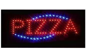 CARTEL LUZ LED XXL PUBLICIDAD DE NEÓN publicidad PANTALLA SIGNS - PIZZA, Imagen reclamo para Pizzeria