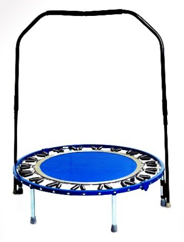 Needak Mini Trampoline (Needak Platinum Soft Bounce Folding Rebounder w/ Stabilizing Bar)