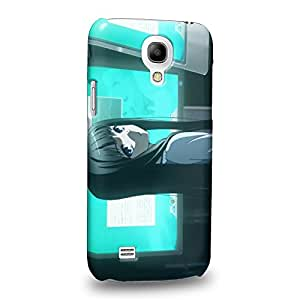 Case88 Premium Designs Heaven's Memo Pad Alice Yuko Shionji 1600 Carcasa/Funda dura para el Samsung Galaxy S4 mini (No Normal S4 !)