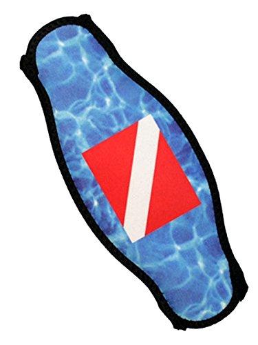 Strap Wrapper Neoprene Mask Strap Cover Dive flag