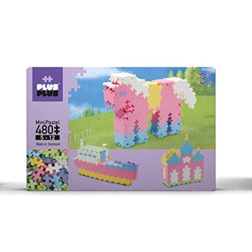 480 Pastel (Plus-Plus Mini Pastel 480 3-in-1 Building Kit)