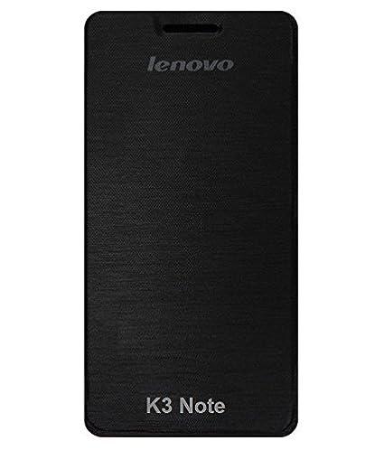 on sale e09d3 2ab7e High Quality Flip Cover Case for Lenovo K3 Note - Black Color