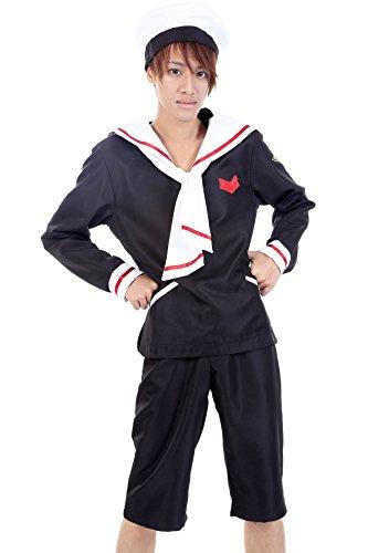De-Cos Cardcaptor Sakura Shaoran Xiaolang Li Syaoran Outfit 2nd Ver Set - Syaoran Li Costume