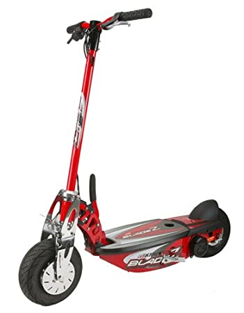 Amazon.com : BladeZ XTR Street II 450 Electric Scooter (Red ...