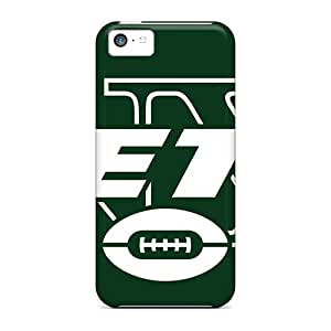Iphone 5c MAQ13995CeXA Support Personal Customs Stylish New York Jets Pictures Great Hard Cell-phone Case -DustinFrench