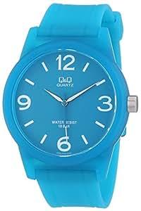 Q&Q VR35J004Y - Reloj de pulsera unisex, plástico, color verde