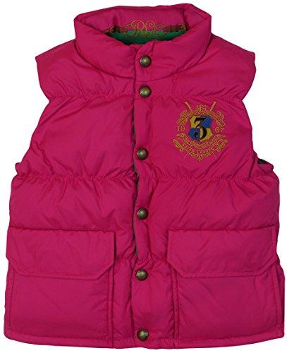 (Polo Ralph Lauren Girl's Down Puffer Reversible Jacket Vest (S(7)))
