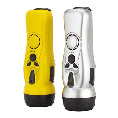 Mini lampe de poche portative d'ABS de torche électrique de secours de torche électrique de charge manuelle