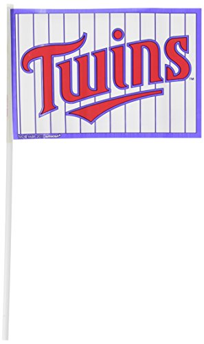 (Amscan Minnesota Twins Major League Baseball Collection Plastic Flags, Party Decoration, 144 Ct.)