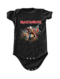 Iron Maiden The Trooper Baby Romper T-Shirt