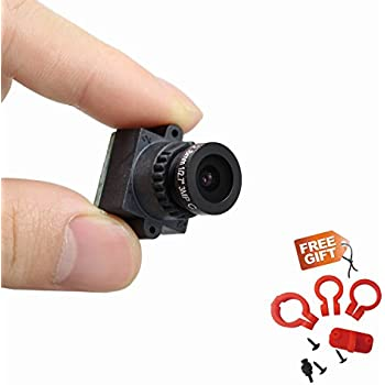 VIDEOTORG Mini FPV 2.8mm Lens Wide Voltage 1000TVL Camera for Quadcopter QAV250