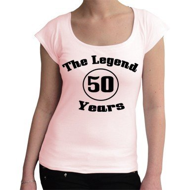 tees4low The Legend 50 Years Fun Camiseta de 50 años, con ...