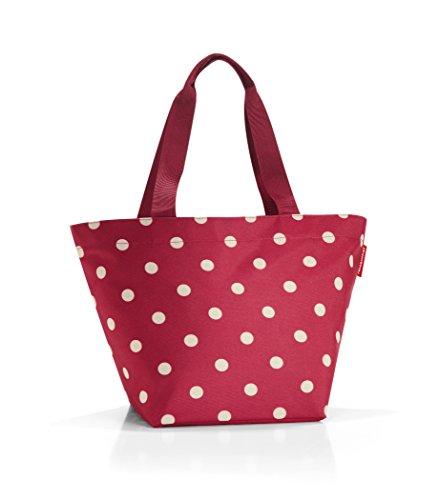 - reisenthel Shopper M, Medium Everyday Tote Bag, Ruby Dots