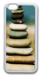 iphone 6 plus 5.5inch Case Heap of stones TPU Custom iphone 6 plus 5.5inch Case Cover Whtie