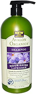 product image for Avalon Organics Lavender Nourishing Shampoo, 32 Ounce - 3 per case.