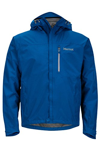 Marmot Minimalist Men's Lightweight Waterproof Rain Jacket, GORE-TEX with PACLITE Technology, Large, Blue Sapphire