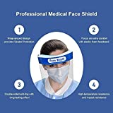 5 Pack All-Round Protection Hat with Clear Wide