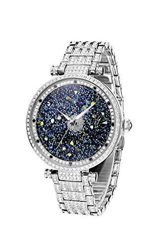 Princess Butterfly Lady Watch Full Of Austria Crystal HL639B Silver
