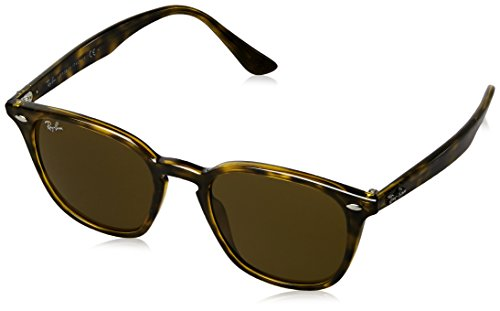 Ray-Ban RB4258 Square Sunglasses, Dark Tortoise/Brown, 50 ()