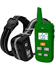 TBI Pro Professional K9 Dog Training Collar with Remote Long-Range E-Collar with Vibration Control, Rechargeable and Fully IPX7 Waterproof for Small, Medium, Large Dogs, All Breeds