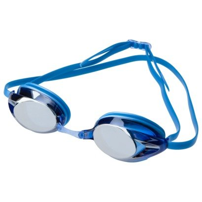 Speedo Adult Record Breaker Mirrored Swim Goggles - Blue