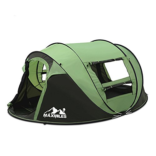green 4 person tent - 8