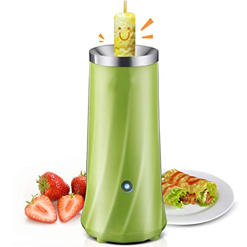 Kicpot Egg Master Roll Maker Multi-Function Breakfast Egg Roll Machine Home DIY Egg Cooker Fast and Durable(110-220V)(Green) by Kicpot (Image #1)