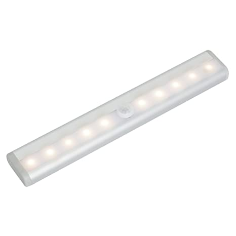 Lámpara Detector De Movimiento a Pilas, KooPower 10 LED [Ultra Brillantt] inalámbrico Sensor