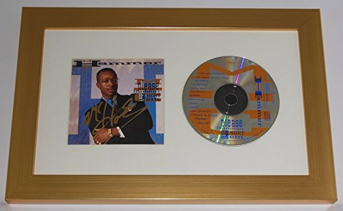 Mc Hammer Please Hammer Don't Hurt 'Em Authentic Signed Autographed Music Cd Compact Disc Cover Framed Display Loa