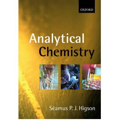 By Sa¸amus P. J. Higson - Analytical Chemistry (2004-02-27) [Paperback] pdf