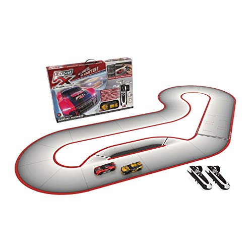 Real FX Racing:  Slotless Racetrack System including two RC Cars and Handsets with Artificial Intelligence from Real FX Racing