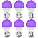 Onforu UV LED Black Lights Bulb, 7W A19 E26