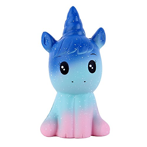 """Anboor 4.9"""" Squishies Unicorn Galaxy Kawaii Soft Slow Rising Scented Animal Squishies Stress Relief Kids Toys for sale"""