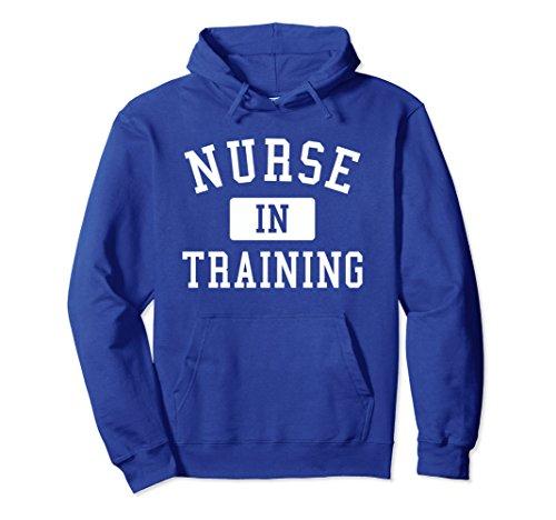 Unisex Nursing Student Hoodie Sweatshirt - Nurse School Gift Small Royal Blue from Nursing Student Gifts & Shirts