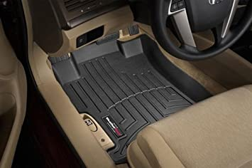 WeatherTech Custom Fit Front FloorLiner for Lexus IS250 Black