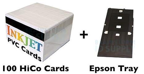 Amazon.com: PVC Tarjeta de Identificación Starter Kit – 100 ...