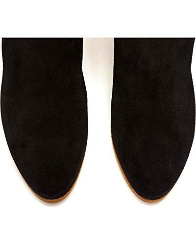 Booties Stud M Black Women's 10 Medium Toe Casey FRYE CqOt6O