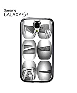 Rolling Smoking Cigar Mobile Cell Phone Case Samsung Galaxy S4 Black