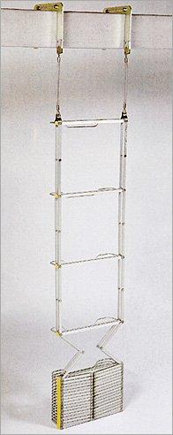◆避難はしご 2階用(4型5型)オリロー 4型/自在フック◆スチール製 B00AT9CFK0 国家検定合格品! (4型) 4型 B00AT9CFK0, 西白河郡:6f3c83e8 --- krianta.ru