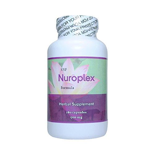 Vet Select Allergic Pet Nuroplex All-Natural Herbal Supplement - For Symptoms of Chronic Pet Seizures - 180 Capsules